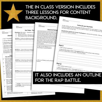 Alexander Hamilton Musical Students write Hamilton vs. Jefferson Rap Battle