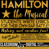 Alexander Hamilton Musical Students write Hamilton vs. Jefferson Rap Battle