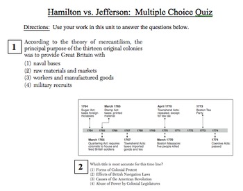 Hamilton vs Jefferson - Part 2