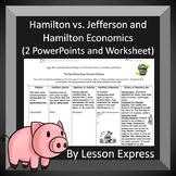 Hamilton vs. Jefferson and Hamilton Economics
