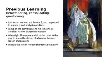 Hamlet (11) Act 3 Scene 4 - The Death of Polonius