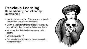 Hamlet (12) Act 4 Scene 1 - The Characterisation of Hamlet