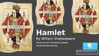 Hamlet (18) Act 4 Scene 7 - The Death of Ophelia