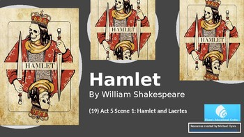 Hamlet (19) Act 5 Scene 1 - Hamlet and Laertes