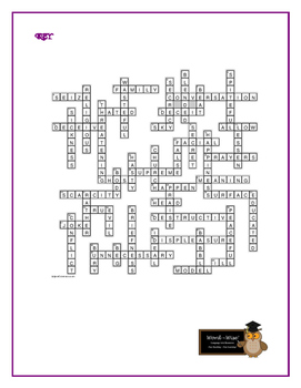Hamlet: 50-word Prereading Crossword—Familiarizes Students w/Vocabulary!