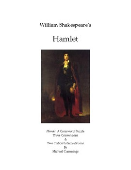 Hamlet: A Crossword Puzzle, Some Conventions and Two Critical Interpretations