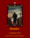 Hamlet: A complete unit with study questions, essay topics, and 2 final tests