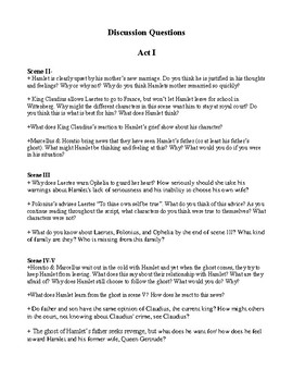 Hamlet: An Abridged Shakespeare Script with a Study