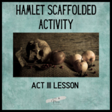 Hamlet Act 3 Scaffolded Activity
