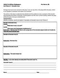 IR Hamlet Act 3 Scene 2 - use of dramatic irony worksheet