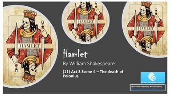 Hamlet Act 3 (four 90 minute lessons)