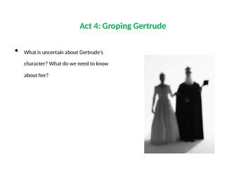 Hamlet Act 4