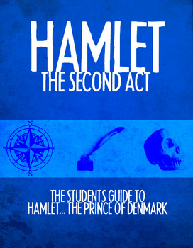 Hamlet Act II Study Guide with Teacher's Notes