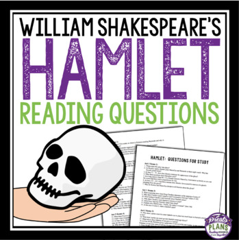 Hamlet free teaching resources teachers pay teachers hamlet reading questions and answers william shakespeare fandeluxe Images