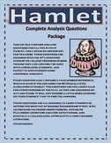 Hamlet Analysis Questions Package