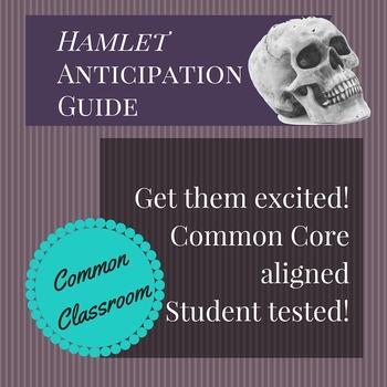 Hamlet Anticipation Guide