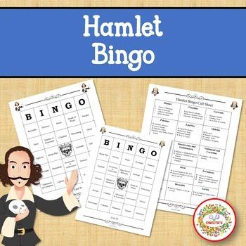 Hamlet Bingo Game