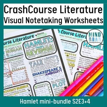 Hamlet Bundle: Crash Course Literature S2 Eps 3 and 4