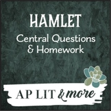 Hamlet Central Questions & Homework