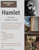 Hamlet Character Analysis Journals