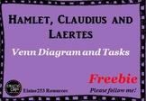 Hamlet, Claudius and Laertes Graphic Organizer and Tasks