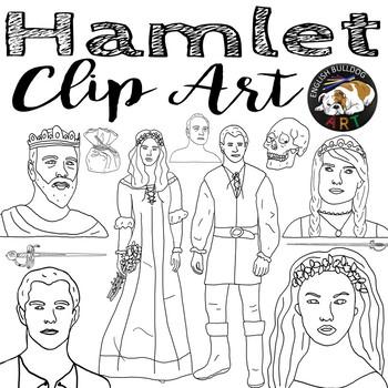 Hamlet Clip Art Set