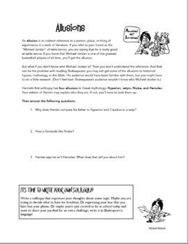 Hamlet: Comics and Activities