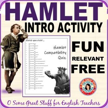 Hamlet Fun Introduction Activity ---Compatibility Survey
