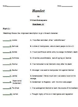Hamlet: Complete Unit Plan