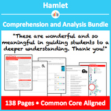 Hamlet – Comprehension and Analysis Bundle