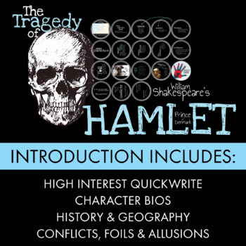 Hamlet, Dazzling Lecture Materials to Launch Shakespeare's Tragic Play