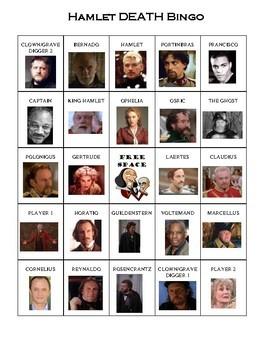 Hamlet Death Bingo