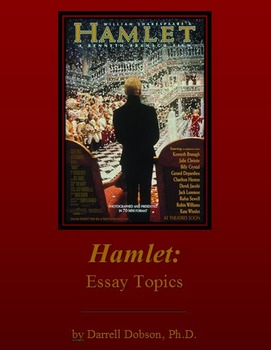 Hamlet Essay Package