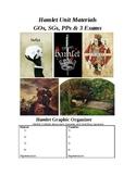 Hamlet Exam (3 parts) with Key