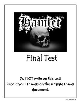 Hamlet free teaching resources teachers pay teachers hamlet final test hamlet final test fandeluxe Images