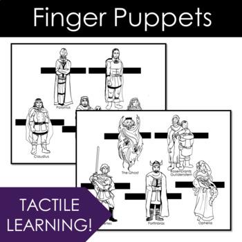 Hamlet Finger Puppets, A Hamlet Activity for ANY Scene