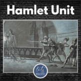 Hamlet Full Unit Bundle - Unit Test & Key, Guided Notes, Homework & More!