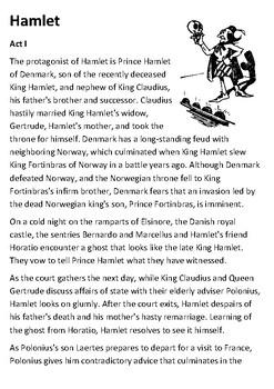 Hamlet Handout