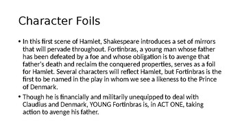 Hamlet Lecture/PowerPoint