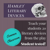 Hamlet Literary Terms Worksheet