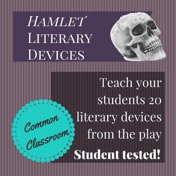 Hamlet Literary Terms Worksheet