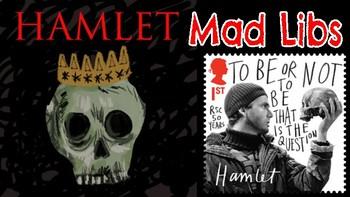 Hamlet Mad Libs: A FUN Twist on the Literary Classic!