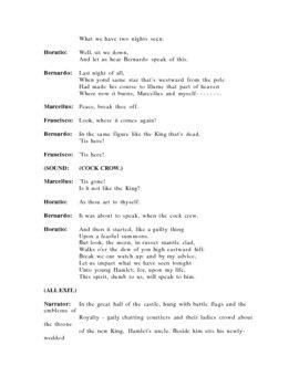 Hamlet - One Hour Version