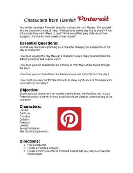 Hamlet Pinterest Project Assignment