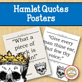 Hamlet Quotes Posters