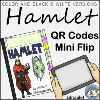 Hamlet free teaching resources teachers pay teachers hamlet qr mini flip hamlet qr mini flip fandeluxe Images