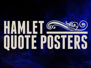 Hamlet Quote Posters