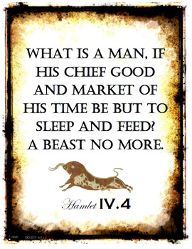 Hamlet Quote Posters