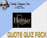 Hamlet Quote Quiz Pack w/ Differentiation - Acts 1 & 2