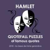 Hamlet - Quotefall puzzles